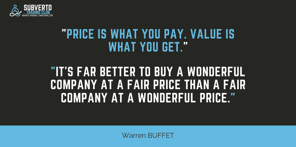 Price is what your pay. Value is what you get