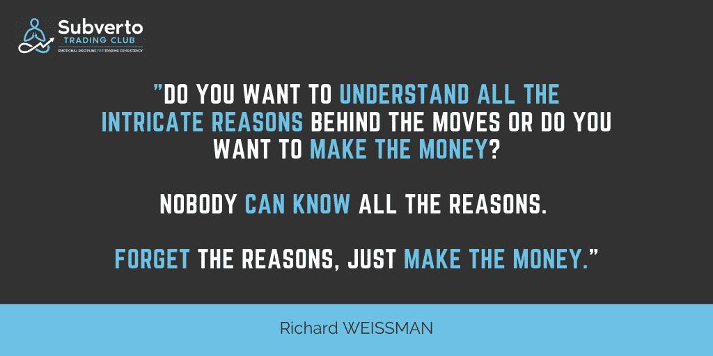 R. WEISSMAN - JUST MAKE THE MONEY