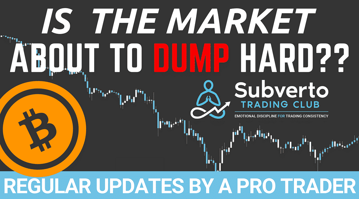 Is The Market ABout to DUmp Hard